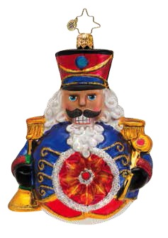 Shine On Soldier Nutcracker Radko Ornament