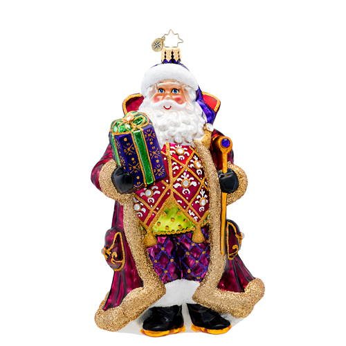 Siberian Nicolai Ornament Radko Ornament