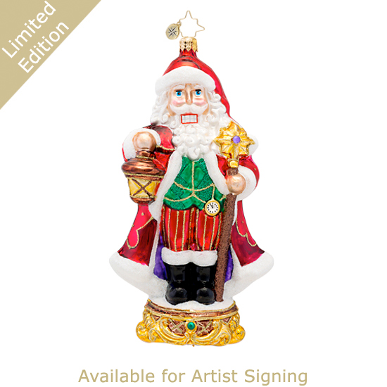 Signed Kringle Kracker  - Limited Edition Radko Ornament