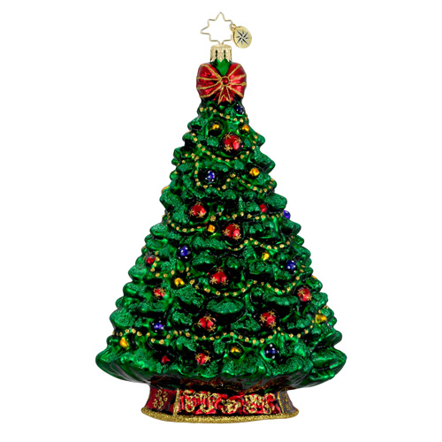 Simply Glorious Christmas Tree Ornament (retired) Radko Ornament