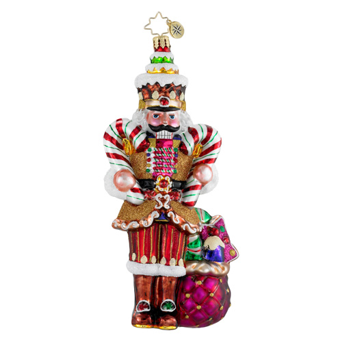 Sir Sweet Tooth Nutcracker Radko Ornament