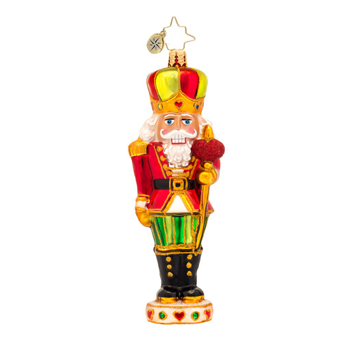 Sir Warm-heart Nutcracker  (retired) Radko Ornament