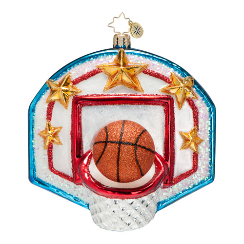 Slam Dunk! Basketball  (retired) Radko Ornament