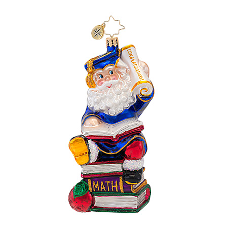 Smarty Pants Graduation  (retired) Radko Ornament