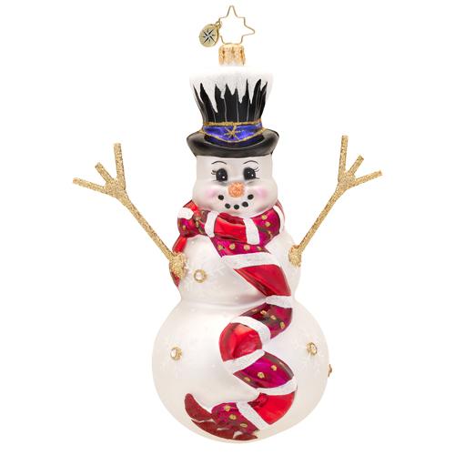 Snowflake Glider Radko Ornament