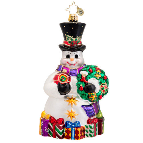 Snowy Offerings Radko Ornament
