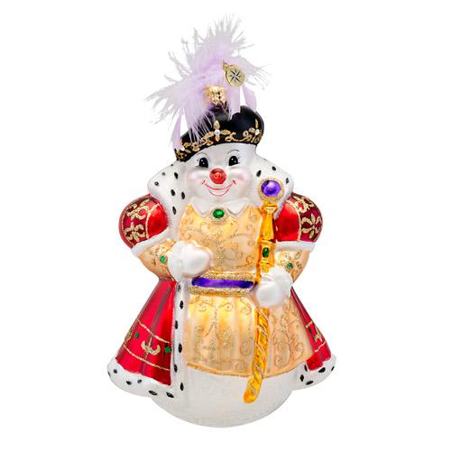 Snowy The 8th Radko Ornament