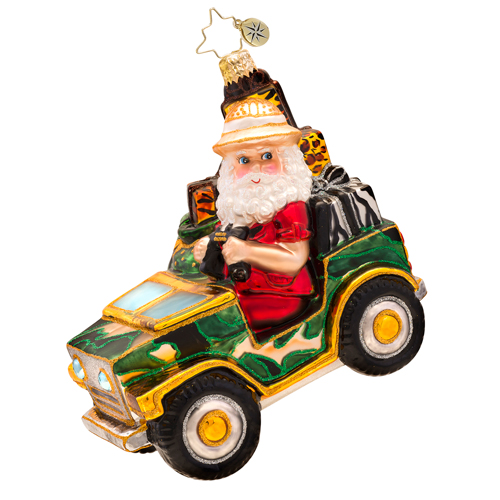 So-fari So-goodie Ornament (retired) Radko Ornament