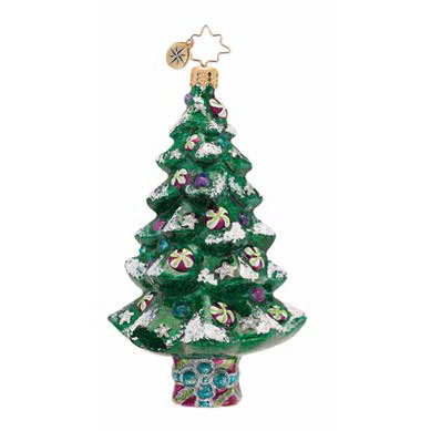 Sparkle Spruce Radko Ornament