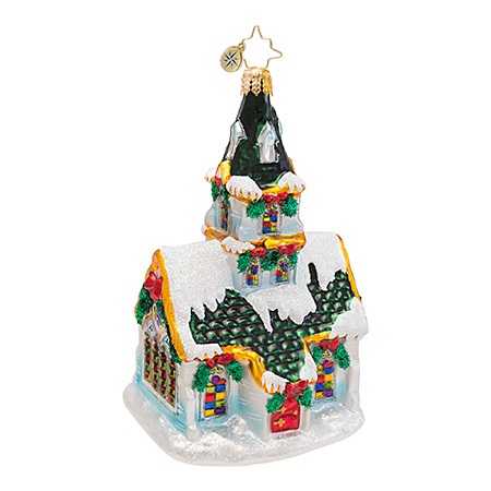 Stained Stunner Church Radko Ornament