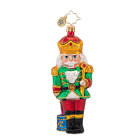 Stand And Deliver Nutcracker Radko Ornament