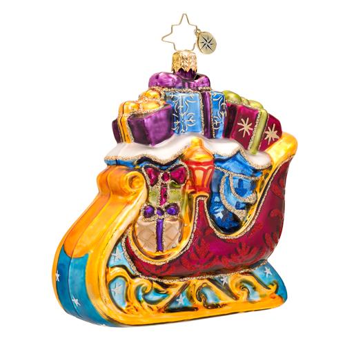 Star Dasher Radko Ornament