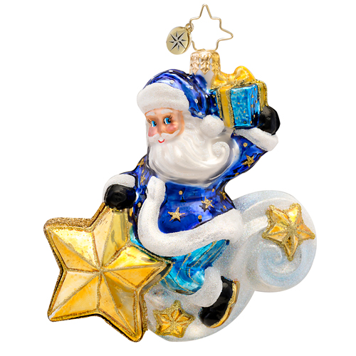 Starlight Rider  (retired) Radko Ornament