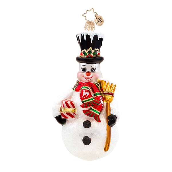 Stately Sweeper Radko Ornament