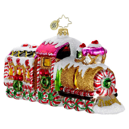 Sugar Express Train  (retired) Radko Ornament