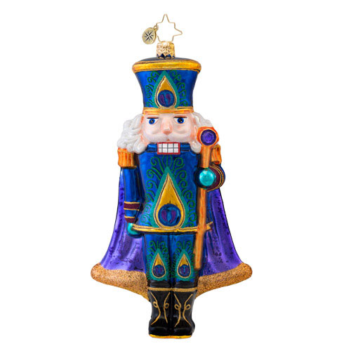 Sugar Plume Nutcracker Radko Ornament