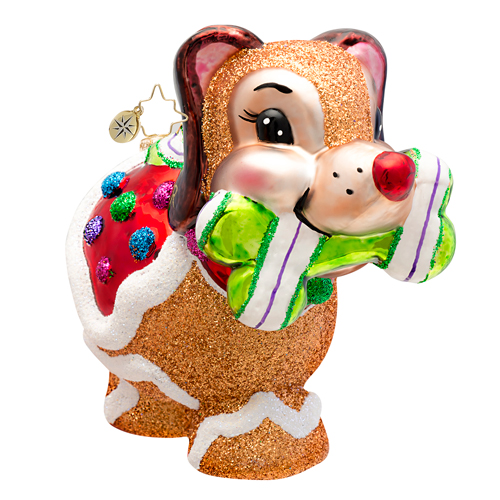 Sugar Pooch Dog Radko Ornament