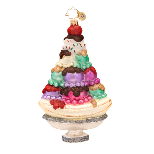 Super Sundae Radko Ornament