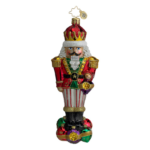Surrounded By Fun Nutcracker  (retired) Radko Ornament