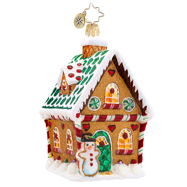 Sweet Ginger Cottage Radko Ornament