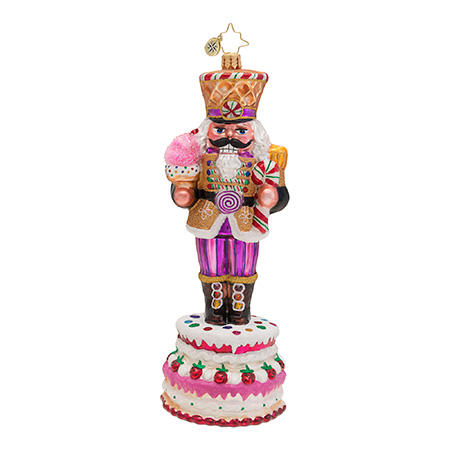 Sweet Marcher Nutcracker Radko Ornament