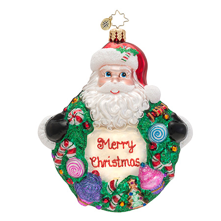 Sweet Wreath Radko Ornament