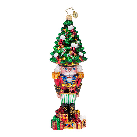 Tannenbaum Top Hat Nutcracker Radko Ornament