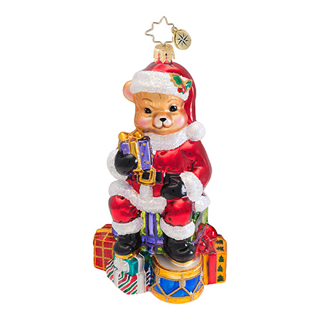Teddy Claus Bear  (retired) Radko Ornament