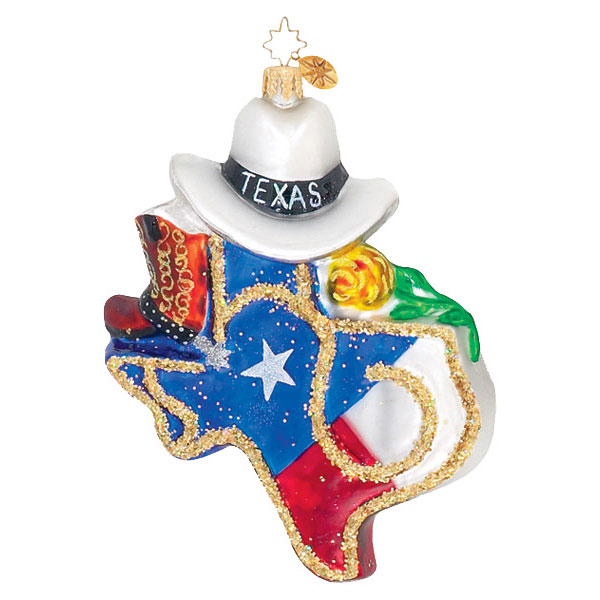 Texas Pride  (retired) Radko Ornament