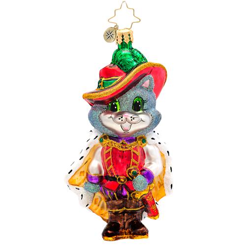 The Cat-a-teer Radko Ornament