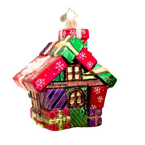 The Gift Cottage Ornament Radko Ornament