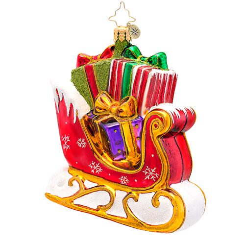 The Gift Glider Ornament Radko Ornament