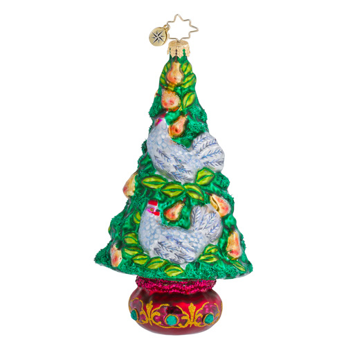 The Hen Pen Christmas Tree Ornament (retired) Radko Ornament