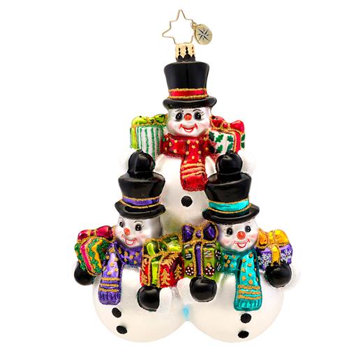 Three's Company Radko Ornament