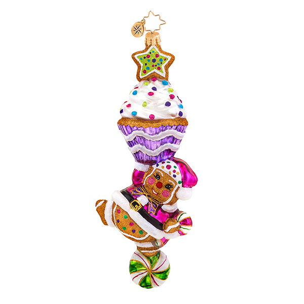 Topsy Tasty Radko Ornament