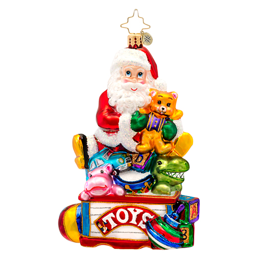 Toys For All Santa Radko Ornament