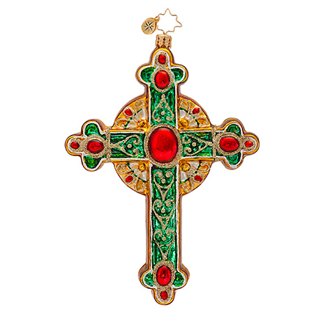 Traditional Rood Cross Radko Ornament