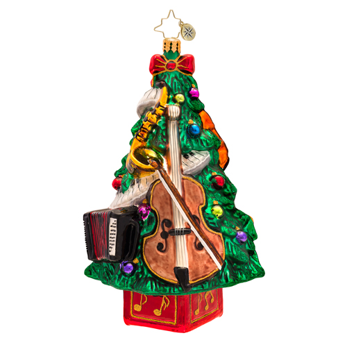 Trees Tunes Radko Ornament