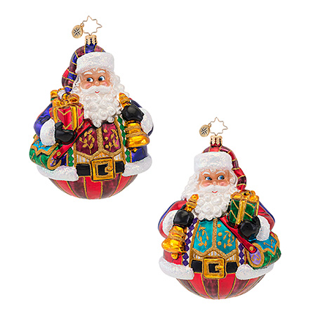 Vest Of All Santa Radko Ornament