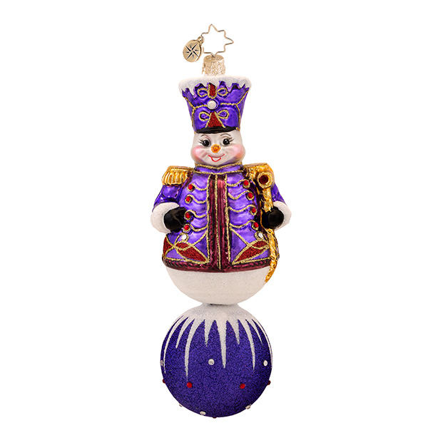Violet Marshal Radko Ornament
