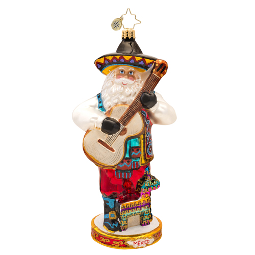 Viva Mexico Ornament Radko Ornament