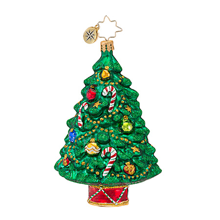 Well-trimmed Tree Radko Ornament