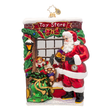 Window Shopper Radko Ornament