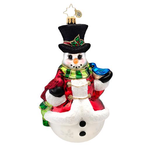 Winter's Trill Radko Ornament