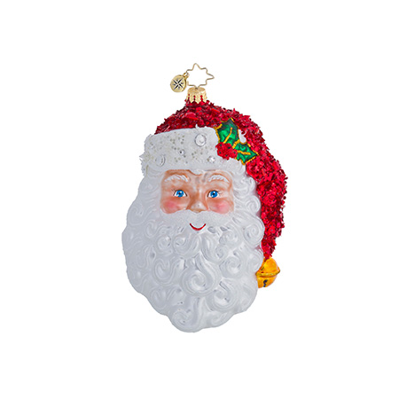 With A Smile And A Wink Santa Radko Ornament